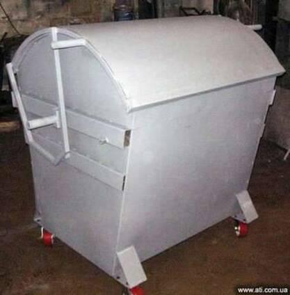 Евробак 1100 л, мусорный контейнер