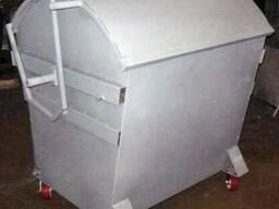 Евробак 1100 л, мусорный контейнер - фото 1