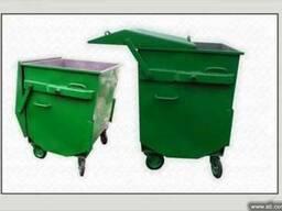 Евроконтейнер (контейнер для мусора) 1. 1 м. куб