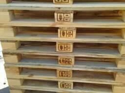 Европоддон 1200х800 (сухостой сосна) 2го сорта