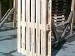 Поддоны деревянные облегченные (б/у, светлые). - photo 1