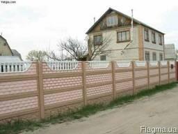 Еврозабор (наборной бетонный забор)
