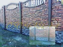 Еврозабор Полтава, покраска, ворота, плитка