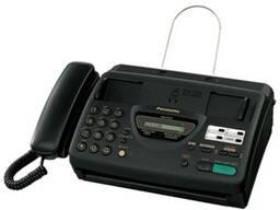 "Факс panasonic ""kx-ft22"" a4, термобумага, автоответчик"