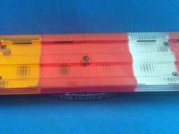 Фонарь задний 7 секций с подсветкой номера