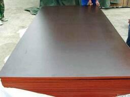 Фанера ламинированная 21 мм Китай (тополь)