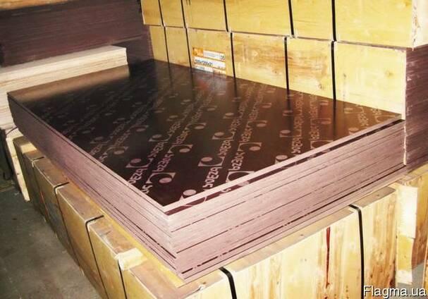 Фанера ламинированная водостойкая 18 мм Китай