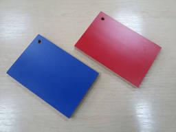 Фанера синяя и красная ламинированная водостойкая 15 мм