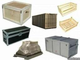 Фанерные ящики и деревянные ящики, коробки