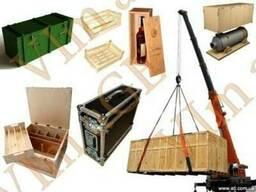 Фанерные ящики и деревянные ящики - производство