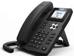 Fanvil X3S, sip телефон 2 SIP аккаунта, 2 порта Ethernet