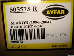 Фара главного света (передняя) Mercede ActroS, правая AYFAR