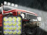 Фара LED дополнительная автомобильная 48ВТ 16 диодов универсальная (Нидерланды-AgroLight) - фото 4