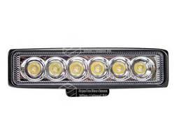 Фара LED прямоугольная 18W ( 6 диодов)