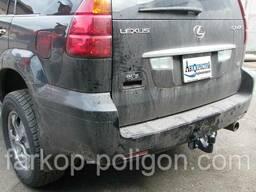 Фаркоп Lexus GX 470 (V8) с 2007 г. (торцевой литой)