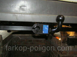 Фаркоп Mercedes Sprinter 3.55 (2 кол. бампер с подножк. ). ..