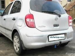Фаркоп на Nissan Micra, Прицепное устройство Ниссан Микра
