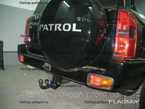 Фаркоп Nissan Patrol Y61 c 1998 г.