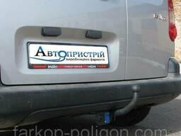 Фаркоп Peugeot Partner 2 (L=4380) кроме макси база с 2008 г.