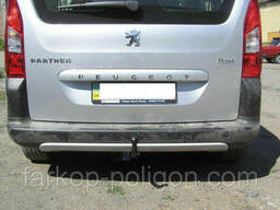 Фаркоп Peugeot Partner 2 (L=4628) макси база с 2008 г.