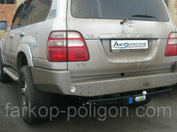 Фаркоп Toyota Land Cruiser J100 с 1996-2007 г. (торцевой. ..