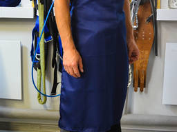 Фартух робочий синій (Грета)