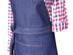 Фартук джинсовый с грудкой