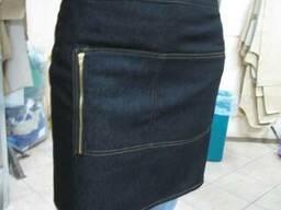 Фартук,фартук-передник,джинсовый передник,униформа официанта