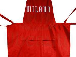 Фартук Милано, алый(ярко красный)