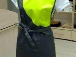 Фартук-накидка для продавца Ткань: габардин Плотность тк