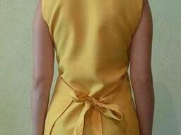 Фартук-накидка модельный женский, ткань Батист