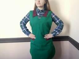 Фартуки-накидки для продавцов, униформа для сферы обслуживан