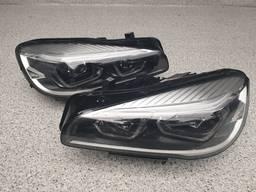 Фары комплектные левая/правая (FULL LED) BMW 2 F45, F46