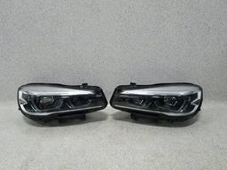 Фары комплектные левая/правая (LED) BMW 2 F45, F46 Lift