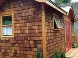 Фасад деревянный-гонт - фото 3