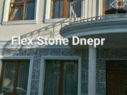 Фасад гибкий камень