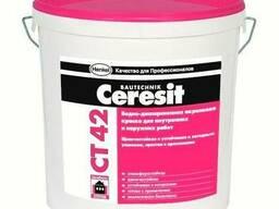 Фасадная акриловая краска Ceresit CT 42