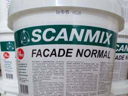 Фасадная акриловая краска Scanmix Facade Normal : 14 кг