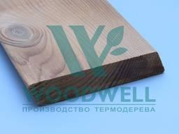 Фасадная доска термососна - планкен сосна