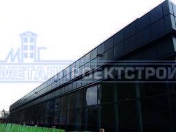 Фасадная кассета 0,5мм, навесной вентилируемый фасад