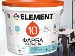 Фасадная краска элемент 10