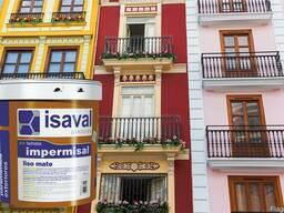 Фасадная краска Isaval Импермисаль Лисо 4л. Гарантия -15 лет