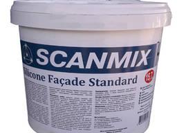 Фасадна фарба Scanmix Silicon Facade Standart : 7 кг