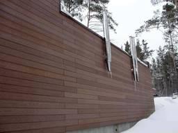 Фасадная облицовка из ДПК CM Cladding Natur