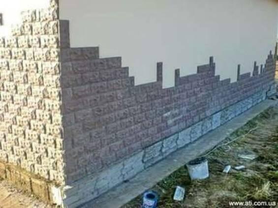Фасадная плитка Рваный камень, Сланец