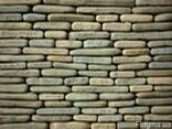 Фасадно-стеновая нарезка окатанная из песчаника - фото 3