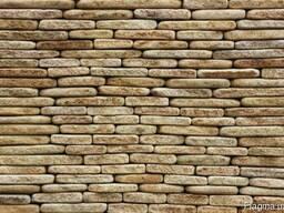 Фасадно-стеновая нарезка-торец окатанный