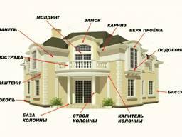 Фасадный декор из пенопласта производители низкие цены