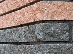 Фасадный камень угловой 225х50х65 арабика, фасадний камінь