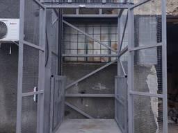 Фасадный шахтный лифт подъёмник для груза